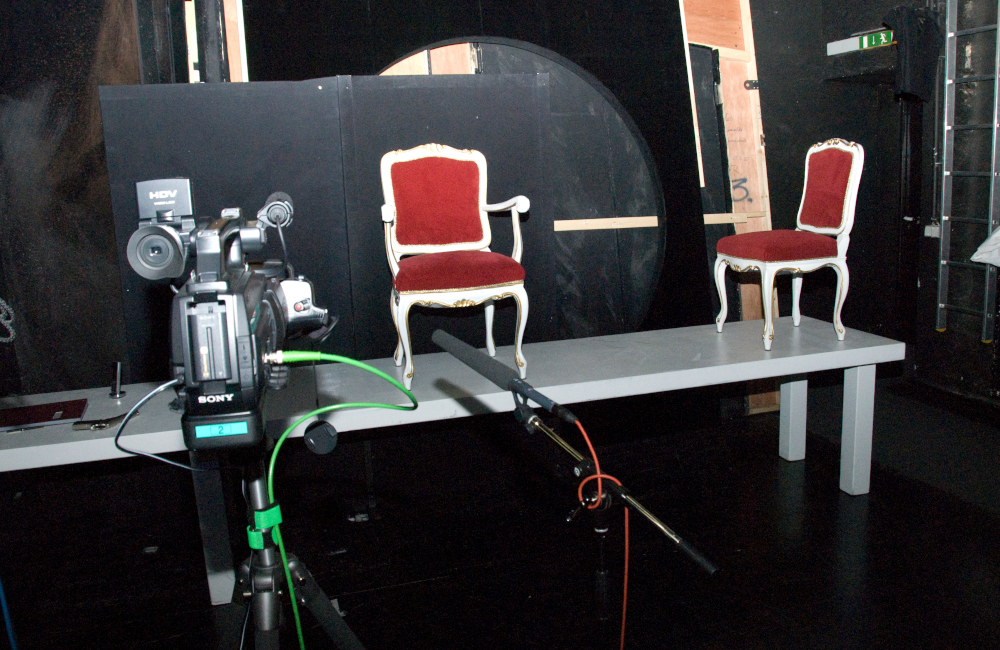 Live Bild Videoset für die Aufführung Krönung der Poppea im Stadttheater Klagenfurt