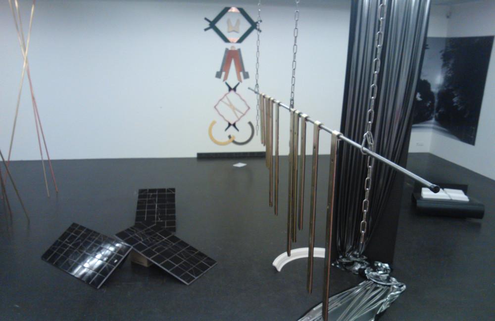 Lichtinstallation im Lentos Kunstmuseum Linz für Luisa Kasalizky